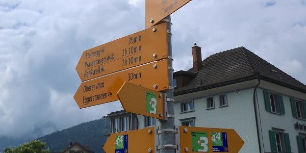 Der Appenzeller-Rundweg ist als barrierefrei markiert.