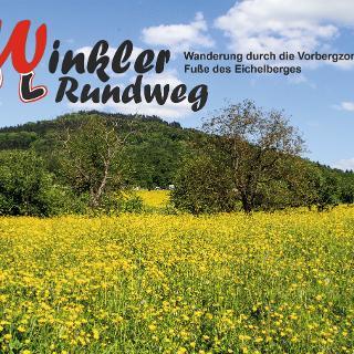 Winkler Rundweg- Blick auf den 533 m hohen Eichelberg