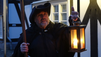 Nachtwächter Frieder aus Freudenberg