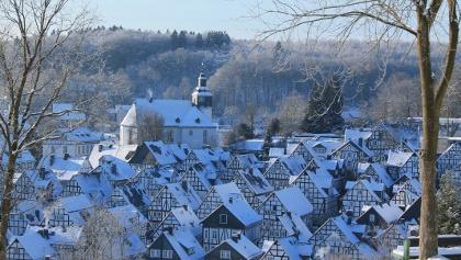 Freudenberg Fachwerkstadt im Winter