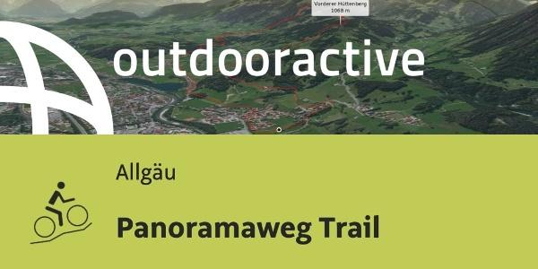 Mountainbike-tour im Allgäu: Panoramaweg Trail