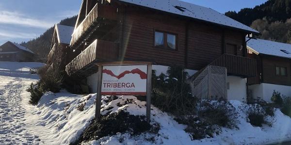 Straßenschild Triberga