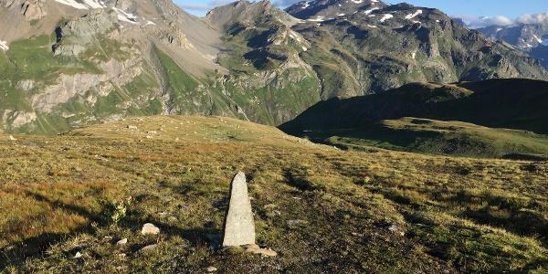 Blick Richtung Grenzkamm - Pointe Du Rocher Blanc