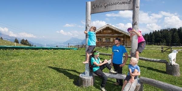 Öhis Geissenweide auf dem Heidipfad