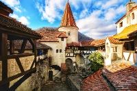 Courtyard Bran Castle