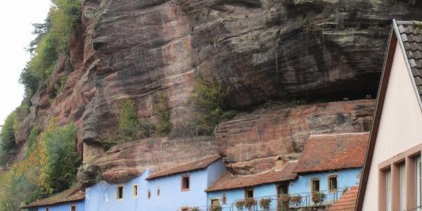 Felsenwohnungen Graufthal