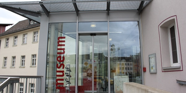Haupteingang Museum Bayerisches Vogtland in Hof
