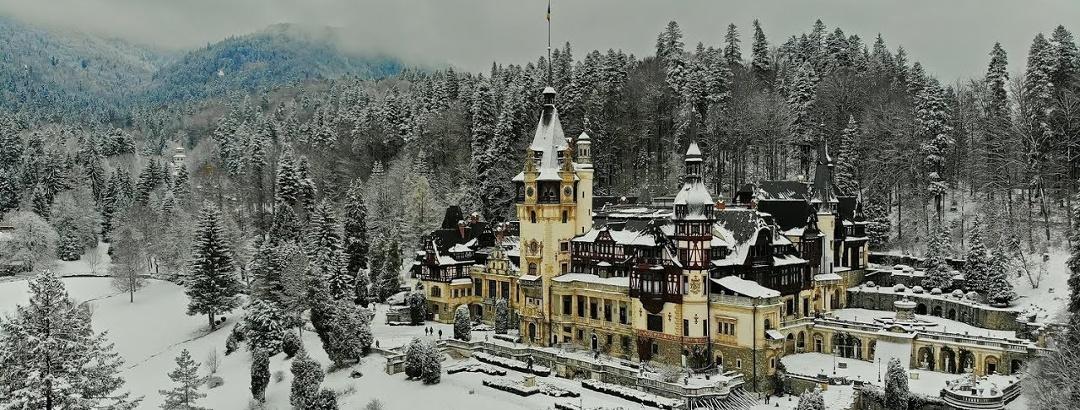 Peles & Pelisor Castles in winter
