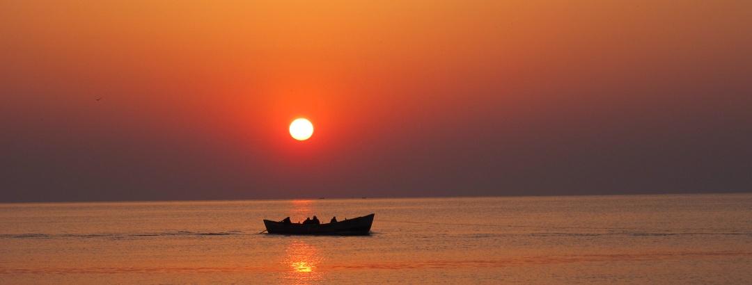 Sunrise at the Black Sea