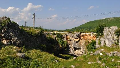 God's Bridge in Ponoarele