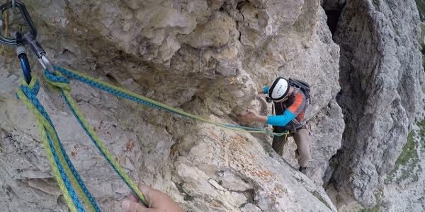 Stuflesser Führe - Große Cirspitze - Südwestwand