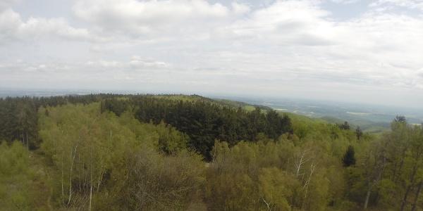 Aussicht im Günser Gebirge