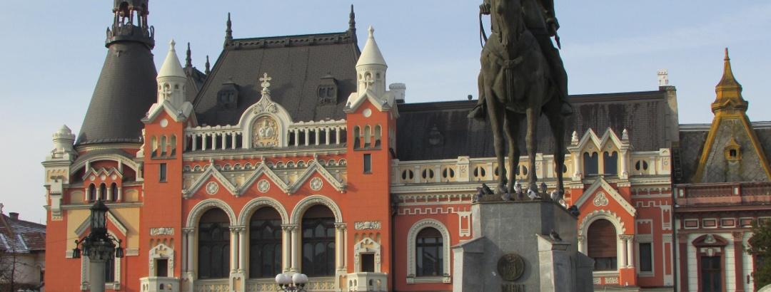 Oradea: Greek-Catholic episcopal palace