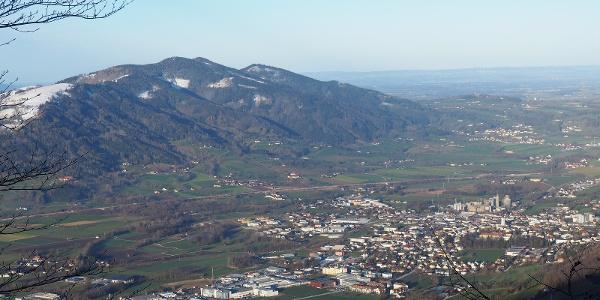 Blick nach Kirchdorf