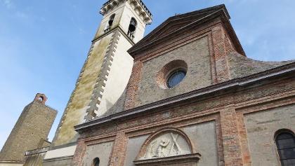 The Church of Santa Croce in Vinci