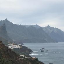 Blick auf Küste mit Taganana