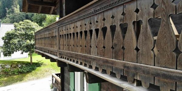 Balkon Mutterhaus