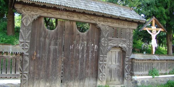 Wooden church in Budeşti Josani, Maramureş