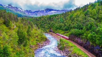 Oslo to Bergen Railway
