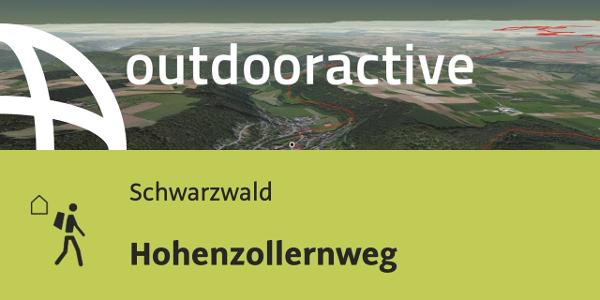 Fernwanderweg im Schwarzwald: Hohenzollernweg