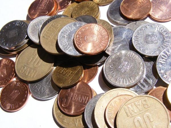 Rumänische Münzen (Bani)