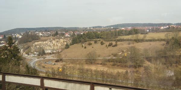 Anreise mit der Bahn - wie so oft bei meinen Wanderungen.