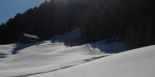 Bitschweil im Winter