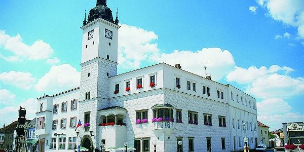 Radnice v Kyjově - Masarykovo náměstí