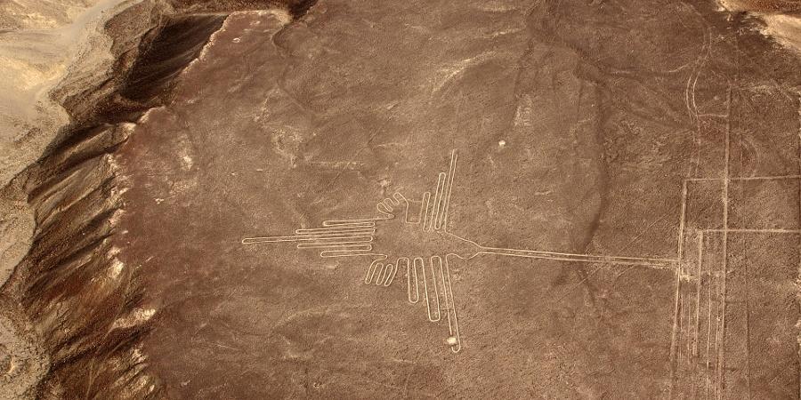 Nazca-Linien: Der Kolibri