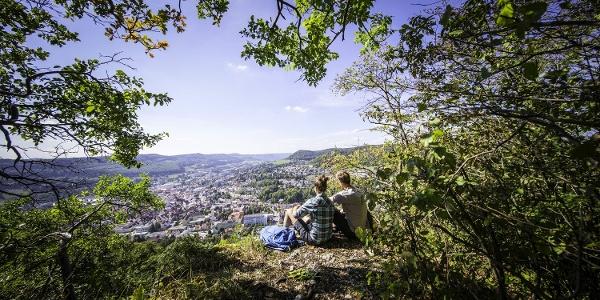 Hoch über Albstadt-Ebingen - traumhafte Weitsichten