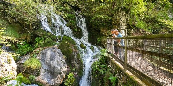 Cascatelle del Parco Naturale Adamello Brenta a Stenico
