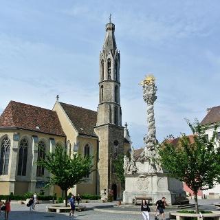 A soproni Kecske-templom (Nagyboldogasszony-templom)