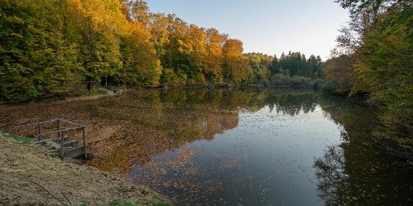 A Pisztrángos-tó
