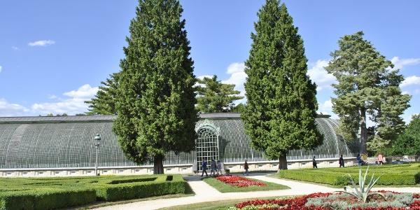 Zámecký park u zámku Lednice - skleník