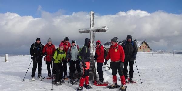 Gipfelkreuz am Hochwechsel