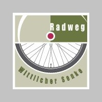 Track Sign - Wittlicher Senke Cycle Trail