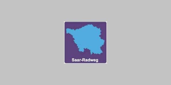 Route logo Saarfietspad