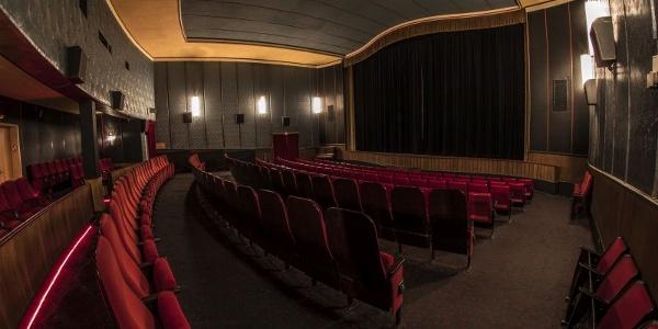 Großer Kinosaal Residenztheater Kino Bad Laasphe