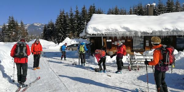 Kraglhütte 799 m