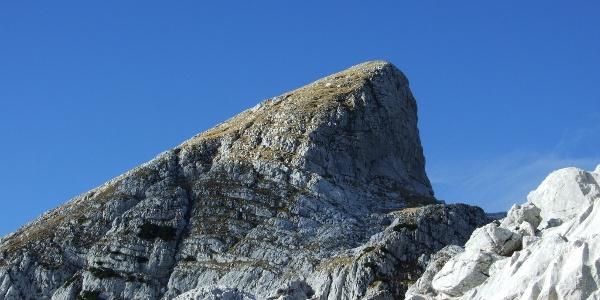 Der Gipfel Veliki Babanski skedenj