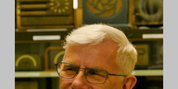 Museumsleiter Radiomuseum Bad Laasphe Hans Necker