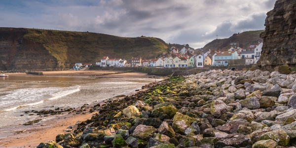 Harbour at Staithes