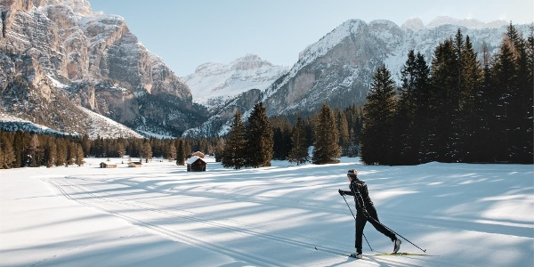 Sciaré cross-country skiing slope