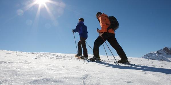 Schneeschuh-Laufen auf Melchsee-Frutt