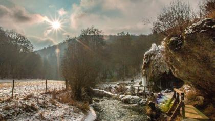 Der Nohner Wasserfall …