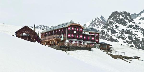 Vernagthütte Winter