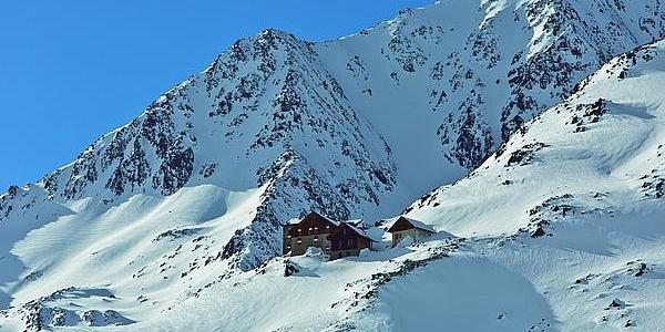 Breslauer Hütte Winter