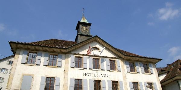 Rathaus Moutier.