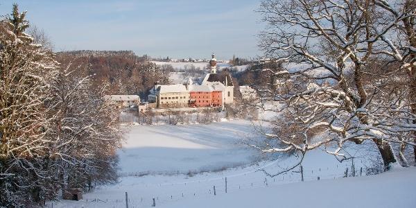 Kloster Höglwörth im Winter
