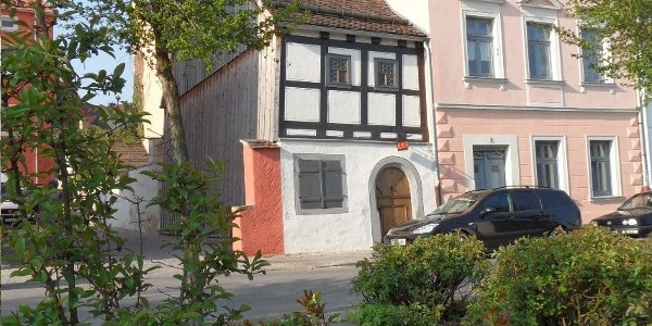 Historischen Handwerkerhaus Außenansicht